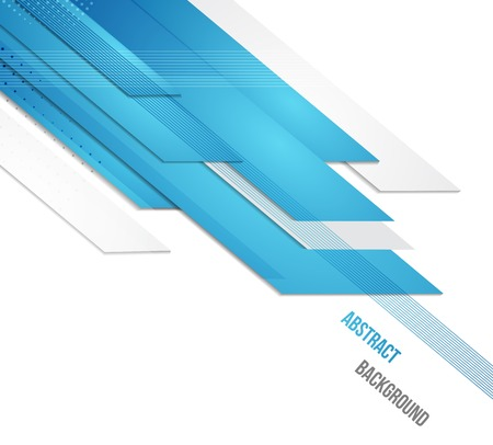 blue energy: abstract business background.  Illustration