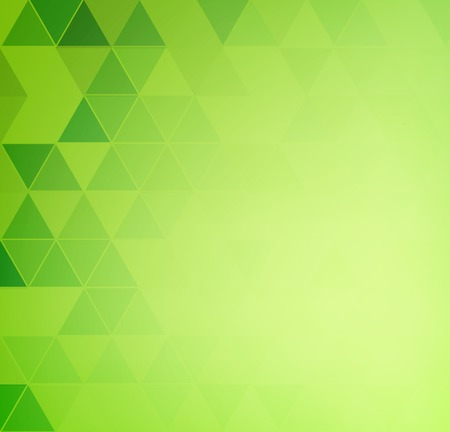 green banner: Vector Abstract retro geometric background. Template brochure design