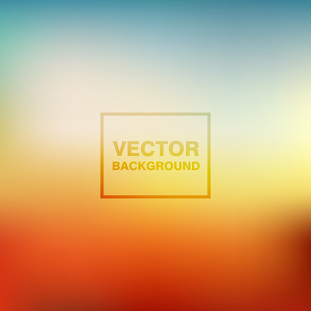 Abstract colorful blurred vector backgrounds. Smooth Wallpaper for website, presentation or poster design