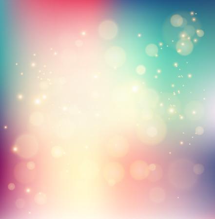 holiday light: Vector  illustration Abstract holiday light background with bokeh Illustration