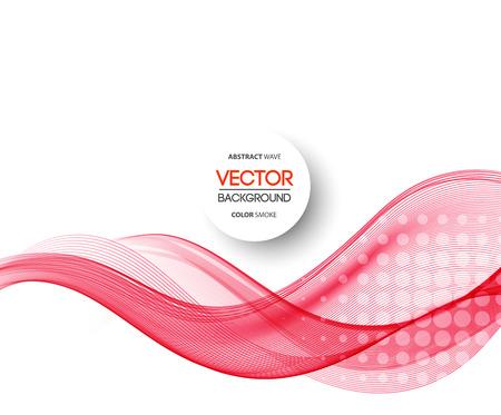 Vectorielle Abstract lignes courbes fond violet. Conception de la brochure modèle Banque d'images - 38153671