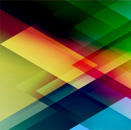 broshure: Abstract triangle colorful vector background. Broshure design. Illustration