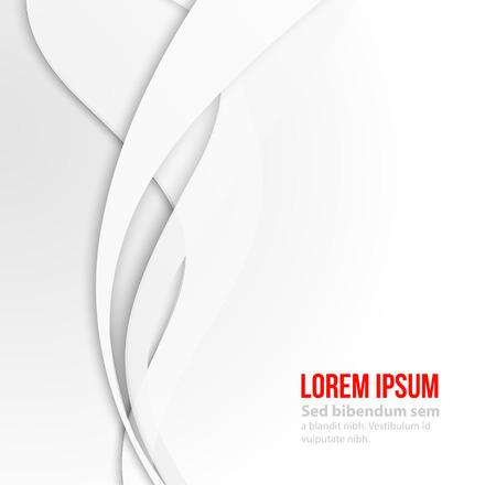 Weiß eleganten Business-Hintergrund. EPS-10 Vektor-Illustration