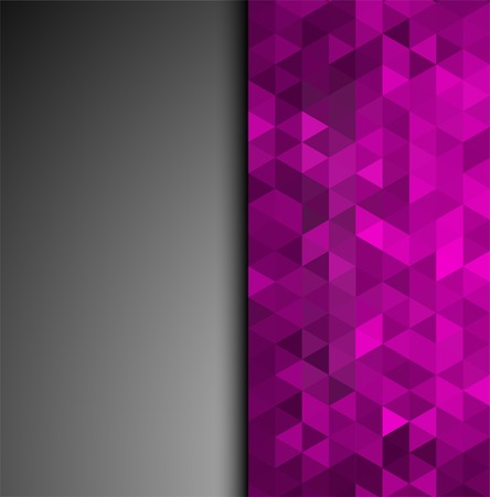 shiny background: Abstract colorful vector background with shiny triangles Illustration