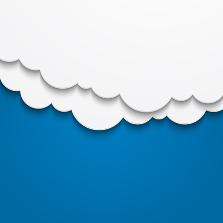 Abstract cloud background Vector illustration.   Illustration