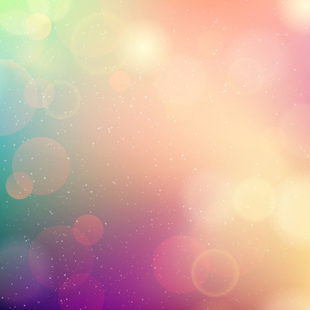 blurred: Vector Soft colored abstract background for design