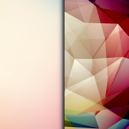 shiny background: Abstract geometric polygonal shiny background for cover, poster, web design