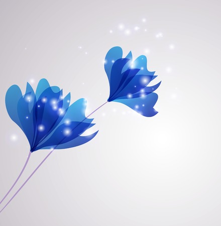growing plant: Abstract Beautiful Flower vector background. EPS 10