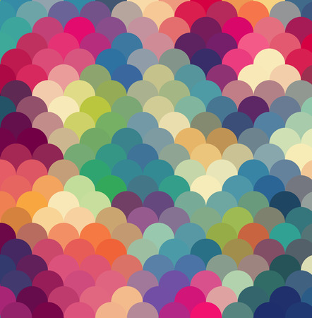 Abstract colorful  rfetro geometric background. Vector illustration