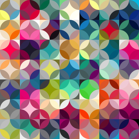 vivid colors: Abstract colorful  rfetro geometric background. Vector illustration