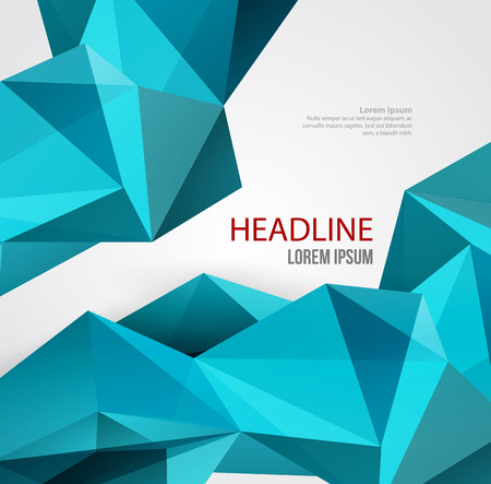 backdrop design: Vector Abstract Geometric Background. Triangular design. Low poly abstraction