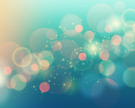 Vector illustration of soft colored abstract background. Blue light Illustration