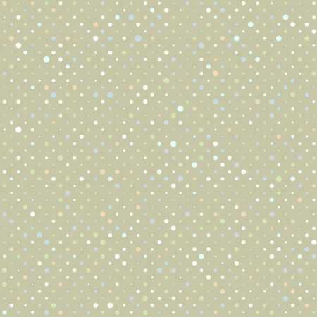 polka dot pattern: Vector Abstract retro  seamless with circle. Polka dot pattern