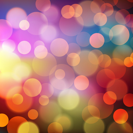 christmas fire: Abstract Golden Holiday Background bokeh effect. Vector EPS 10 illustration.