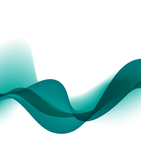 water flow: Abstract motion smooth color wave vector. Curve blue lines