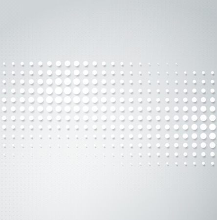 abstract technology: Vector halftone dots. Abstract background. Halftone design Illustration