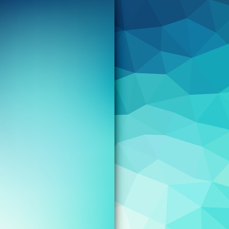 triangle pattern: Abstract light background. Blue triangle pattern. Blue triangular background