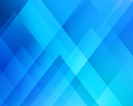 Streszczenie tło światło. Niebieski trójkąt. Niebieskie tło trójkątne Ilustracje wektorowe