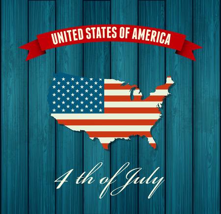 Independence day background. drapeau des Etats-Unis. Drapeau des Etats Unis. symbole américain. USA map