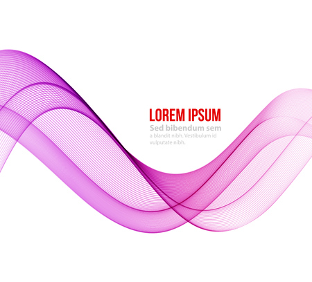 vector backgrounds: Abstract motion smooth color wave vector. Curve purple lines