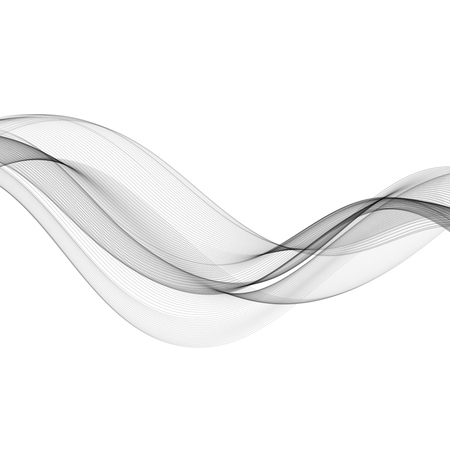 grey background: Abstract gray color wave design element. Gray wave. Gray smoke wavy lines