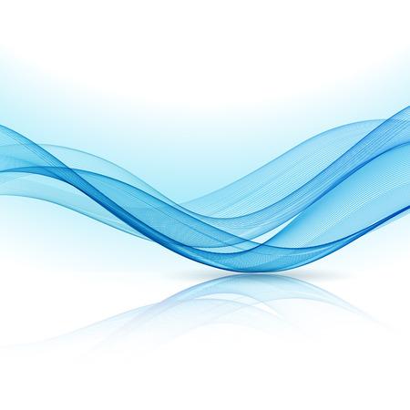 Abstracte beweging golf illustratie