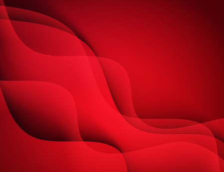 red abstract backgrounds: Abstract vector template design with colorful red waves backgrounds Illustration