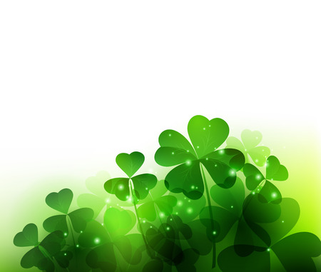 Happy Saint Patricks Day Background.
