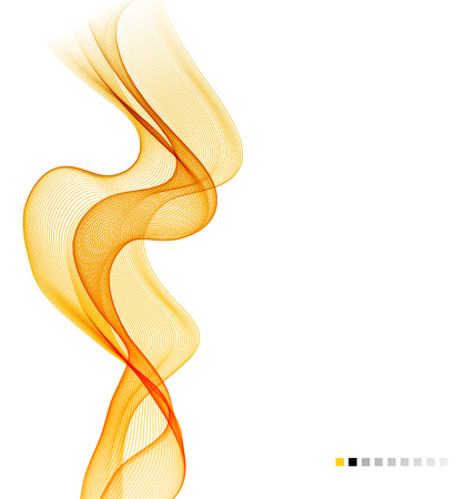 Abstract empty background with smoke wave Illustration