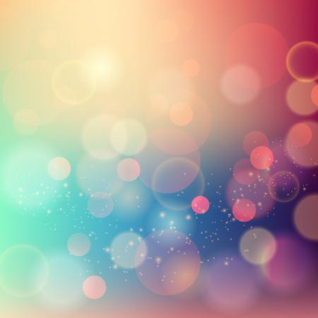 Vector Soft blurred colored abstract background for design Ilustração