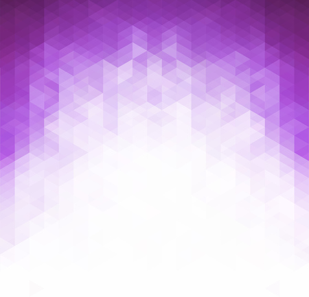 Vector Purple Grid Mosaic Background, Creative Design Templates Ilustração