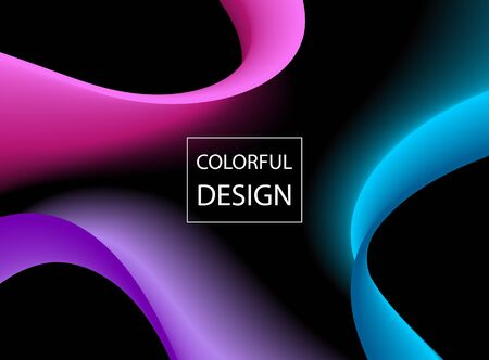 Abstract colorful Design Template.