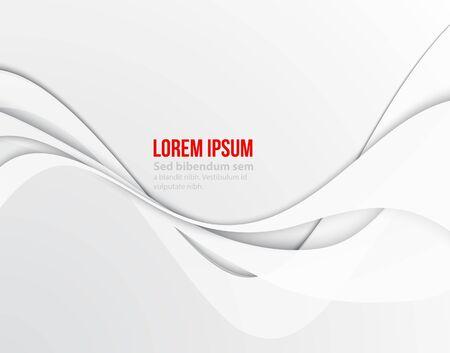 White elegant business background. Vector illustration. Minimal Paper design Stockfoto - 138520941