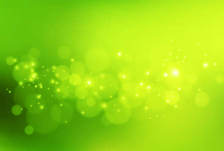 Vector abstract background green and fresh bokeh Stockfoto - 159316362