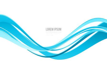 Modern colorful flow poster. Wave Liquid shape color paint. Moving simple lines. Art design for your design project.