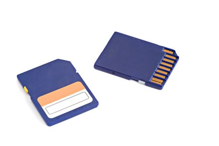 Memory card Stock Photo - 3971329