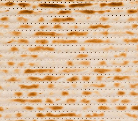 matzah: Close up of square matza