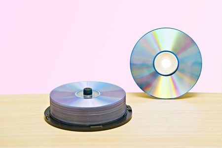 rewritable: DVD  and pack of DVDs