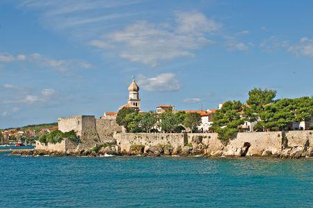 krk: Coast of Krk, Croatia