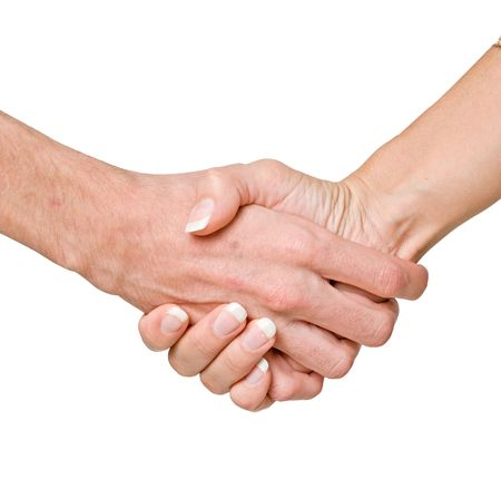 Hands ready for handshaking Stock Photo - 5973414
