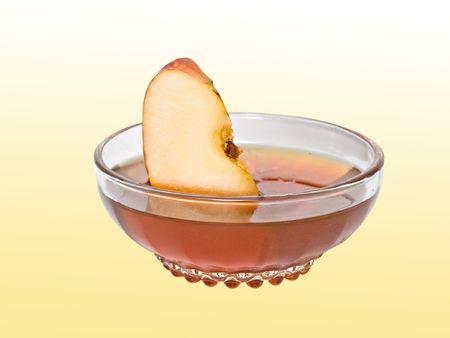 segment: Segmento di Apple nel miele