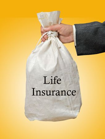Giving life insurance Stock Photo - 6819409