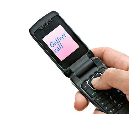 recoger: Recopilar llamada