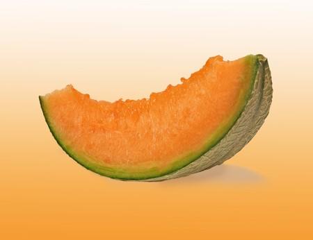 segment: Melon segment Stock Photo