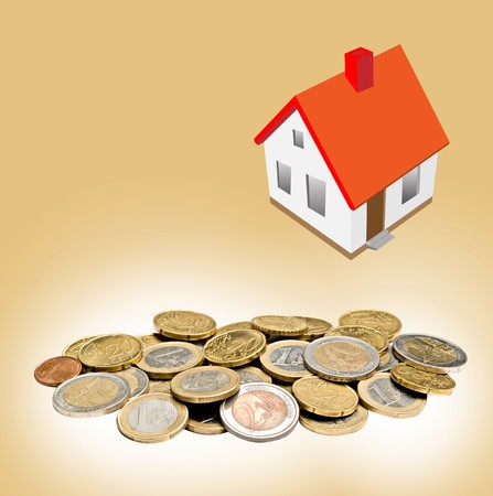 metaphorical: House and money
