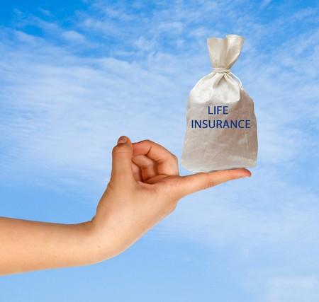 Giving life insurance photo