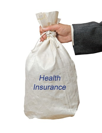 Giving health insurance photo