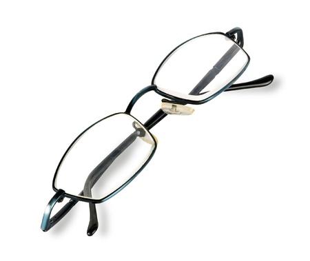 eyeglasses: Close up of eyeglasses