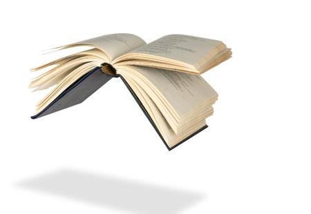Flying book Stock Photo - 8745943