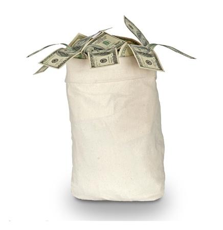 Money bag Stock Photo - 8954184
